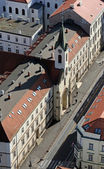 Church of Saint Vincent de Paul in Zagreb in Zagreb, Croatia. — Stock Photo
