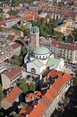 Church of Saint Blaisen in Zagreb, Croatia. — Stock Photo