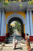 Sree Sree Chanua Probhu Temple in Kolkata, West Bengal, India — Stock Photo