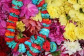 Flower market, Kolkata, India — Stock Photo
