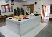 Tomb of Mother Teresa in Kolkata — Stock Photo