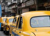 Táxi de kolkata — Fotografia Stock