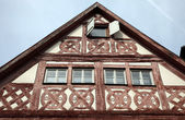 Half-timbered old house in Gemunden, Germany — 图库照片