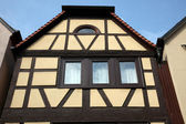 Half-timbered old house in Gemunden, Germany — Foto de Stock