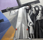 8th Stations of the Cross — Stock Photo