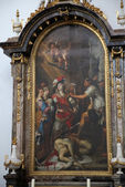 The Beheading of Saint John the Baptist — Стоковое фото