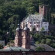 Medieval german town Miltenberg on Main river in Bavaria — Stock Photo #42508293