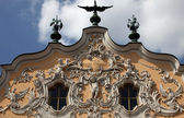 House of Falcon in Wurzburg, Germany — Stock Photo