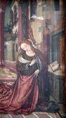 Virgin Mary, The Annunciation — Stock Photo