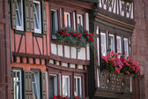 Half-timbered old house in Miltenberg, Germany — Foto de Stock