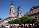Church of St. James in Miltenberg, Germany — Stockfoto