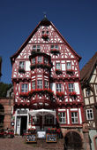 Half-timbered old house in Miltenberg, Germany — Stock Photo