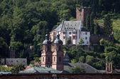 Medieval german town Miltenberg on Main river in Bavaria — Stock Photo