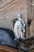 Statue of Saint, Basilica Santa Maria della Steccata, Parma, Italy — Foto de Stock