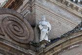 Saint Peter the apostle Basilica Santa Maria della Steccata, Parma, Italy — Stock Photo