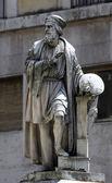 Parmigianino statue. Parma. Emilia-Romagna. Italy. — Stock Photo