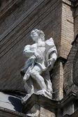 Statue of Saint, Basilica Santa Maria della Steccata, Parma, Italy — Stock Photo
