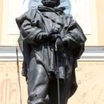 Постер, плакат: Giuseppe Garibaldi bronze statue Parma Italy
