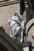 Statue of Saint, Basilica Santa Maria della Steccata, Parma, Italy — Zdjęcie stockowe