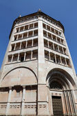 Baptistery on Piazza del Duomo in Parma, Italy — Stock Photo