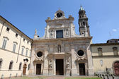 Abbey of Saint John the Evangelist. Parma. Emilia-Romagna. Italy — Stock Photo