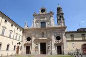 Abbaye de saint Jean l'Evangéliste. Parme. Émilie-Romagne. Italie — Photo