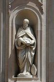 Saint Benedict of Nursia — Stock Photo