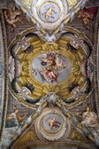 Fresco in the dome of the Saint Lucia church, Parma, Italy — Stock Photo
