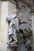 Statue of Saint in the church of Saint Vitale. Parma. Italy — Stock Photo