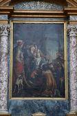 Franz von Paola und König Ludwig Xi — Stockfoto