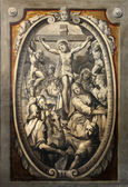 Jesus dies on the cross — Stock Photo
