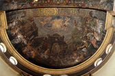 Fresco in the dome above the the altar at the Basilica Santa Maria della Steccata, Parma, Italy — Stock Photo