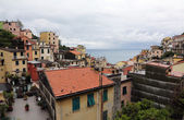 Riomaggiore, one of the Cinque Terre villages, Italy — Stock Photo