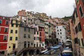 Riomaggiore, jedné z vesnic cinque terre, Itálie — Stock fotografie