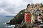 Riomaggiore, one of the Cinque Terre villages, Italy — Stock fotografie