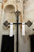 Cross in the Oratory of the Dead in the Old Town at Monterosso — Стоковое фото
