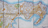 Map of Portoferraio — Stock Photo