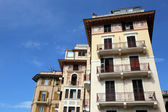 Liguria, Rapallo, buiding facade — Stock Photo