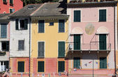 Multicolored houses of Portofino, Italy — Stock Photo