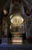 Altar in the church of Saint Martin, Portofino, Italy — Stock Photo