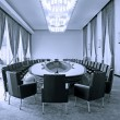 Business meeting room interior — Stock Photo