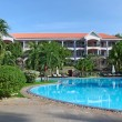 Tropical resort with swimming pool — Stock Photo #18851891