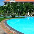 Tropical resort with swimming pool — Stock Photo #19371707