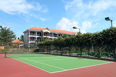 Tennis Court — Stockfoto