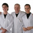 Teacher with medical students — Stock Photo #2238096