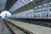 Stazione ferroviaria coperto — Foto Stock