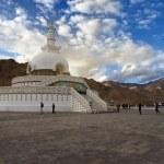 Shanti Stupa, Leh, Ladakh, India — Stock Photo #7369468
