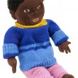 Stock Photo: Black doll