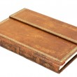Old leather book — Stock Photo #14095852