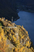 орел дорога в геирангере — Стоковое фото